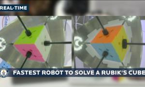 Robot pobił rekord świata w układaniu Kostki Rubika na czas