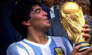 Diego Maradona chce pozwać Konami