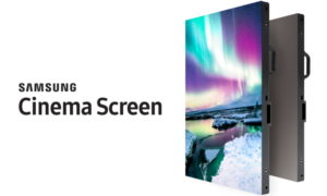 Samsung prezentuje pierwszy ekran kinowy HDR LED 4K