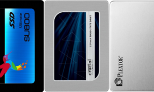 ADATA SU800 256 GB, Crucial MX300 275 GB, Plextor S2C 256 GB