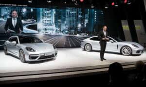 Pięć azjatyckich premier Porsche