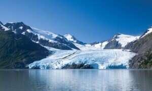 Time-lapsy pokazujące jak szybko rozpływają się lodowce