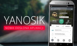 Yanosik – nowa odsłona aplikacji