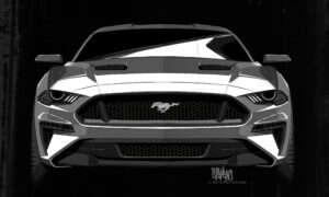 Ford Mustang 2018 ma przypominać Darth Vadera