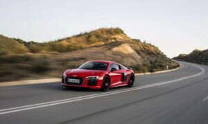 Audi R8 V10 plus wybrane przez czytelników