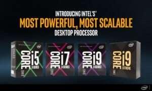 Wyciekły wyniki procesora Core i9 7960X