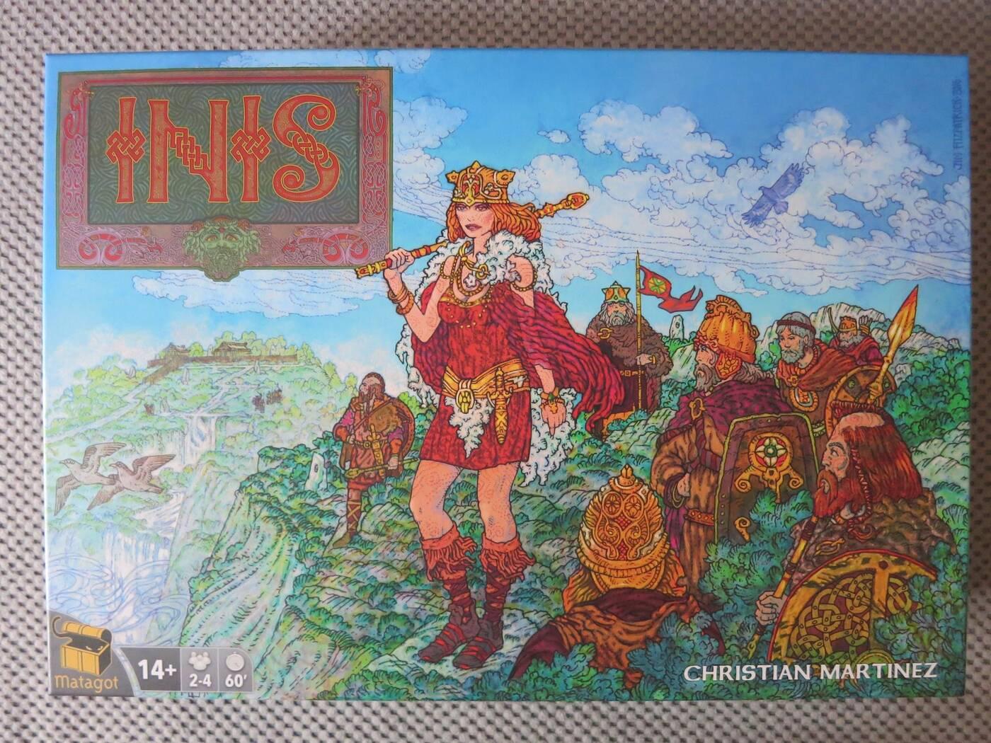 Recenzja gry planszowej Inis