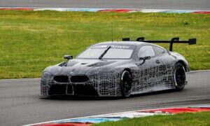 Pierwsze testy BMW M8 GTE