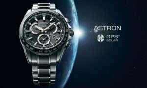 Kosmicznie dokładny zegarek Seiko Astron GPS Solar