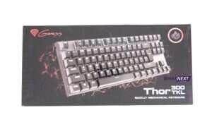 Test klawiatury Genesis Thor 300