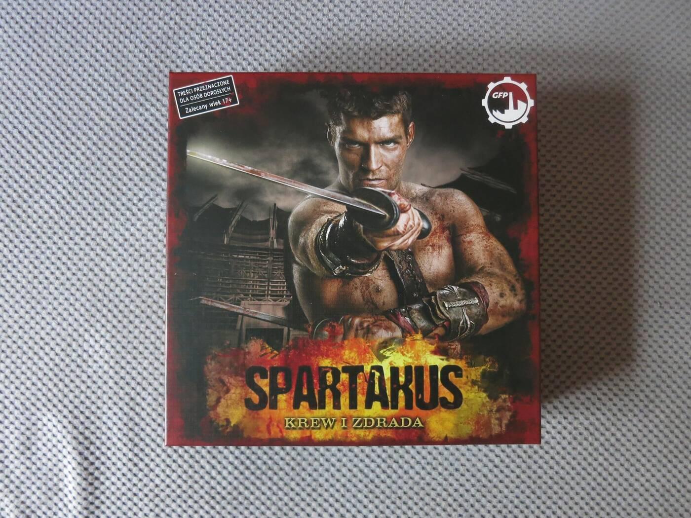 Spartakus pudełko