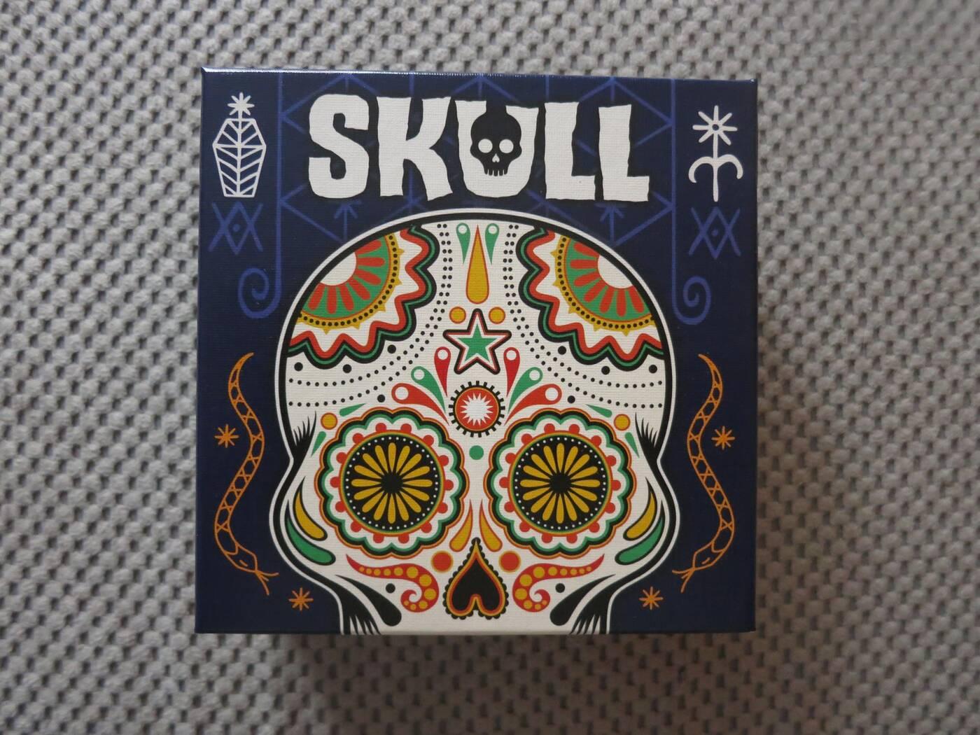 Skull pudełko