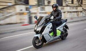 Elektryczny skuter BMW C evolution już w Polsce