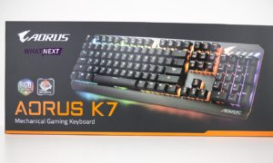 Test klawiatury Gigabyte AORUS K7