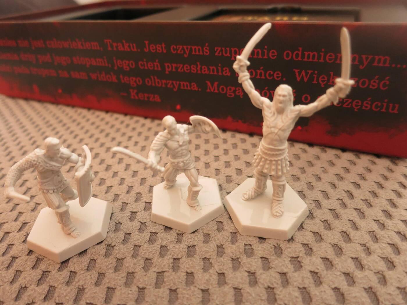 Spartakus Widmo Śmierci figurki