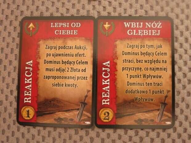 Spartakus Węże i Wilk Karty