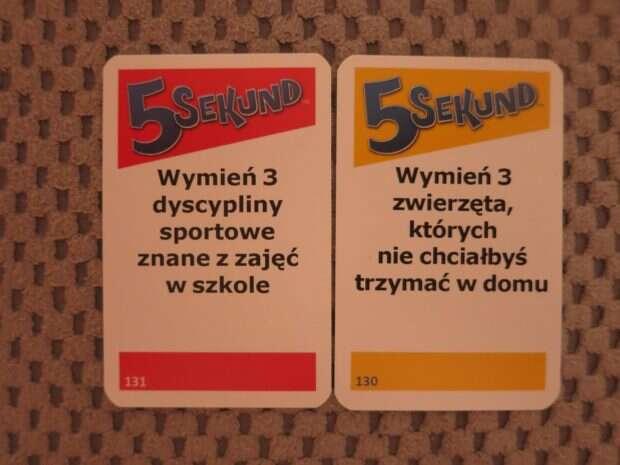 5 sekund karty 2