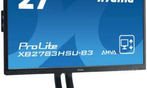 Sprawdzone rozwiązania w nowej odsłonie: iiyama odświeża monitory z wielokrotnie nagradzanej serii 83