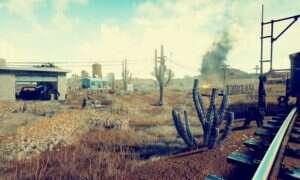 Pustynne klimaty w Playerunknown's Battlegrounds