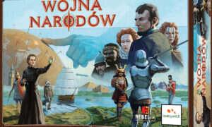 Recenzja gry planszowej Wojna Narodów