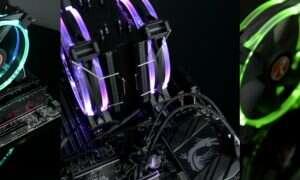 Podświetlany cooler Raijintek Leto Pro RGB