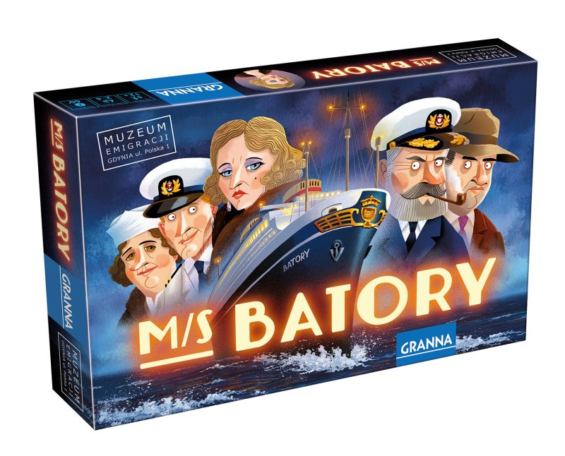 MS Batory tło