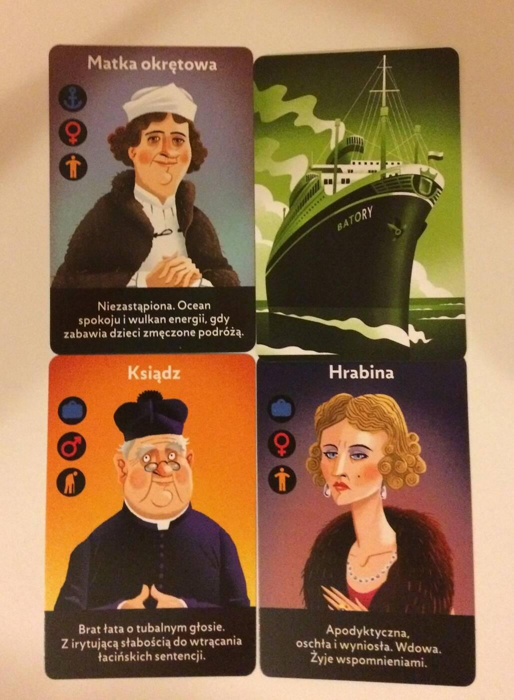 MS Batory karty postaci