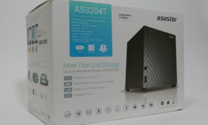 Test serwera plików Asustor AS3204T