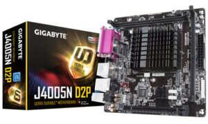 Płyty główne napędzane CPU Gemini Lake od Gigabyte