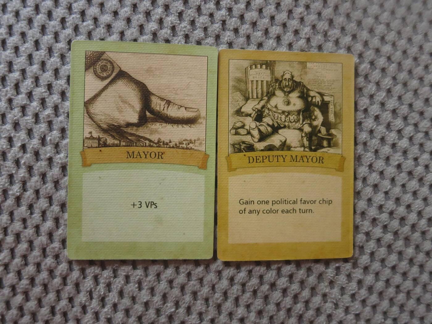Tammany Hall karty