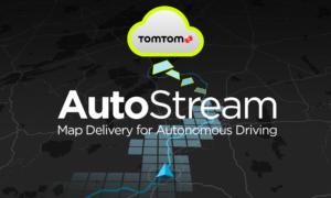 Nowe usługi dla pojazdów autonomicznych od TomTom