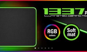 Nowa podkładka Sharkoon 1337 RGB