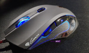 Test myszy Genesis GX75