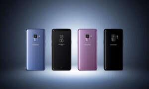 Samsung bada problemy z dotykowymi wyświetlaczami w S9 i S9+