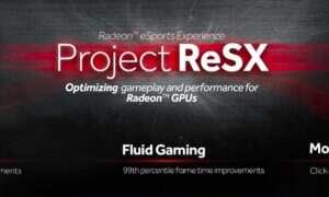 Wzrost wydajności Radeonów w grach e-sportowych dzięki Project ReSX
