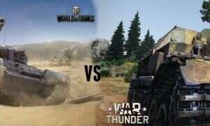 World of Tanks 1.0 vs War Thunder 1.77