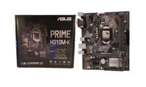 Test płyty głównej Asus Prime H310M-K