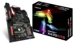 Biostar prezentuje płytę RACING X470GT8
