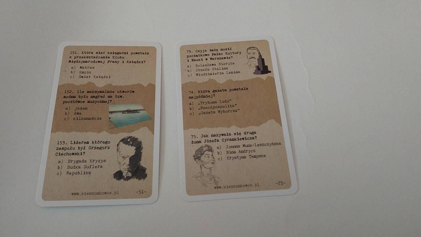 Egard Kieszonkowce karty