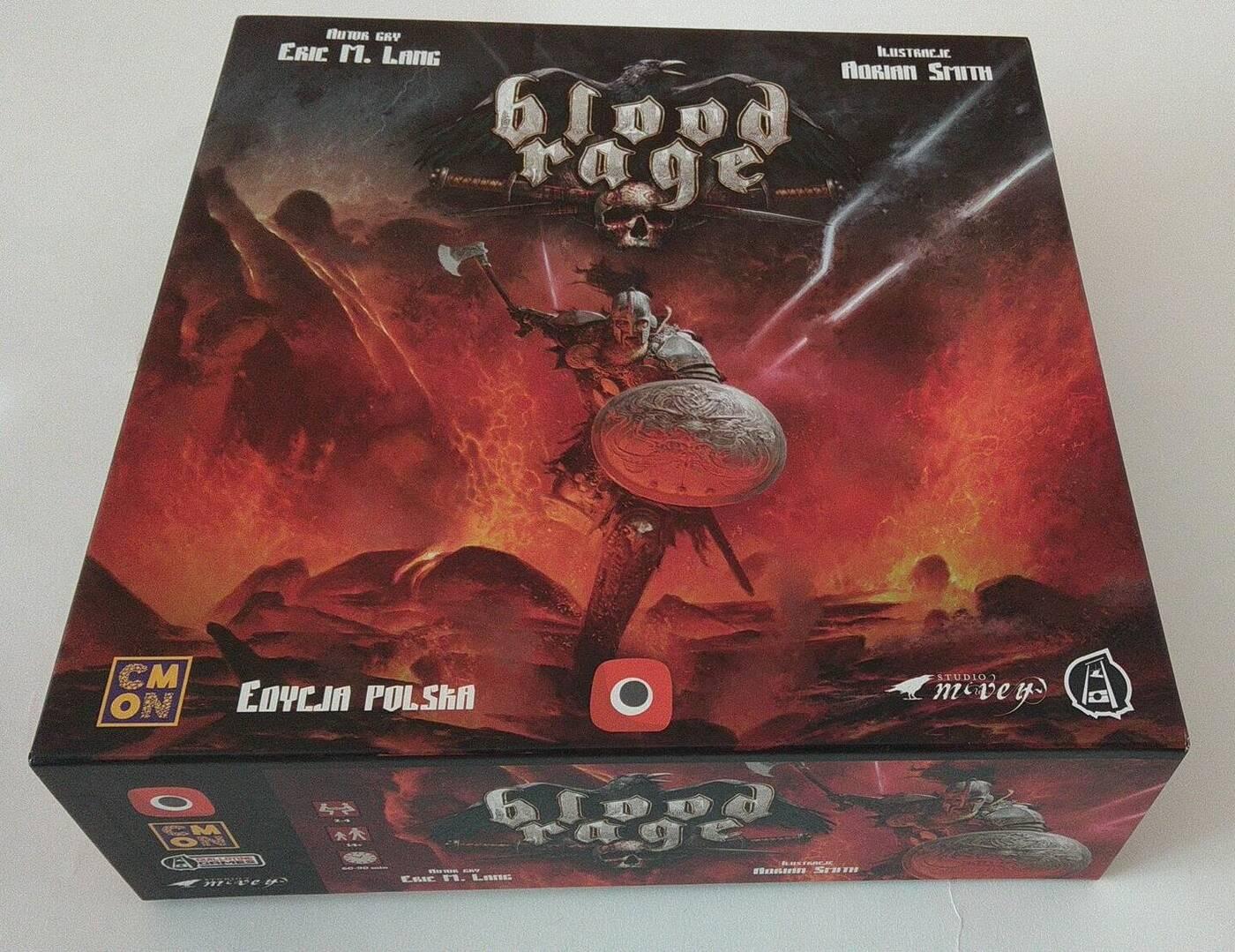 Blood Rage pudło