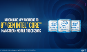 Szereg prezentacji i zapowiedzi procesorów Intela