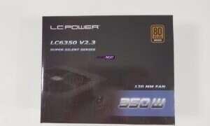 Test zasilacza LC-Power LC6350 V2.3