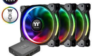 Test wentylatorów Thermaltake Riing Plus 12 LED RGB