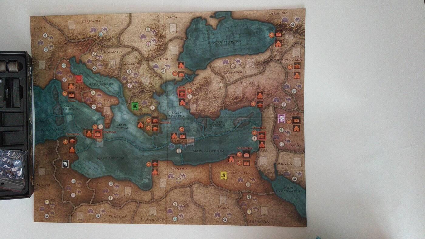 Mare Nostrum mapa