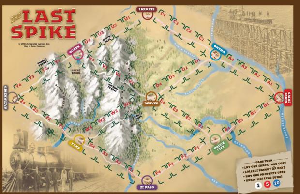 budowa miasta the last spike