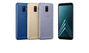 Samsung wprowadza do sprzedaży smartfony Galaxy A6 i A6+