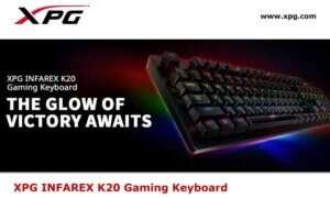 ADATA prezentuje gamingową klawiaturę