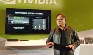 CEO Nvidii: premiera gamingowych kart GeForce jest odległa