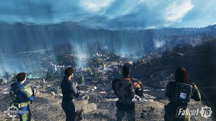 Bethesda, E3 2018, zwiastun, gameplay, informacje, Fallout 76, Fallout, MMO, sieciówka, postapo