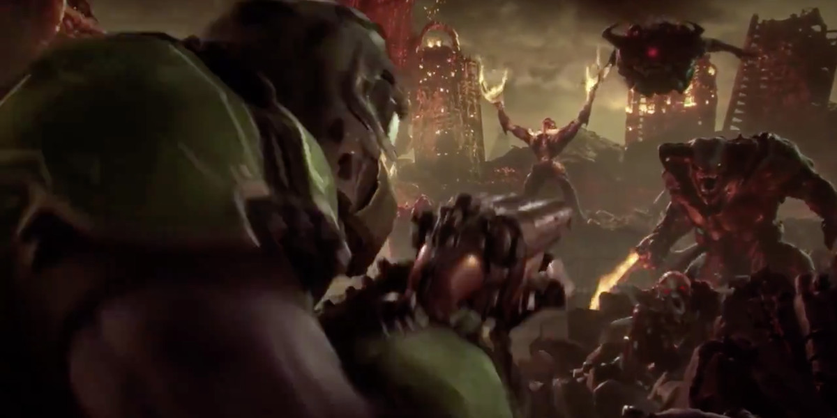 bethesda, Doom, Doom Eternal, E3, Quakecon, trailer, zapowiedź